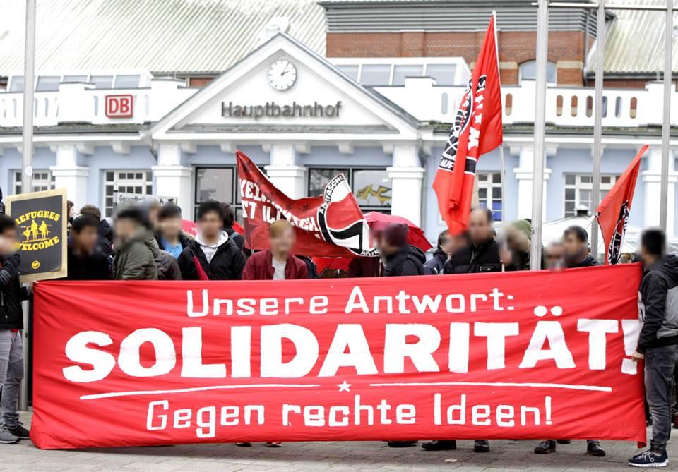 Unsere Antwort: Solidarität!